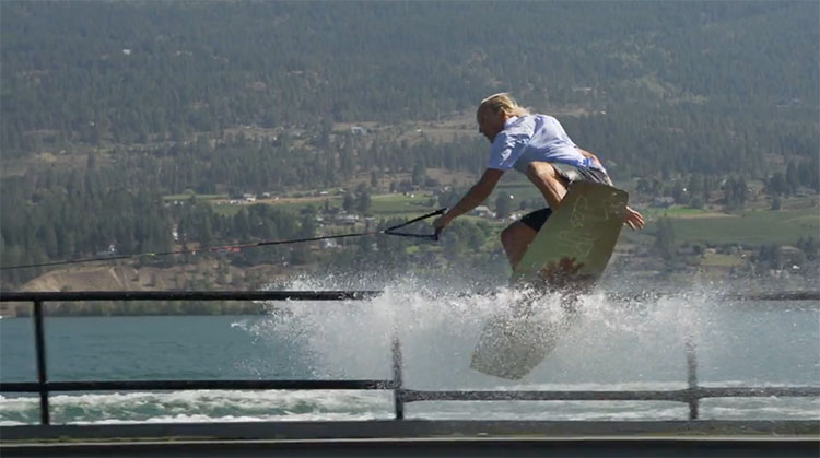 Nick Dorsey Okanagan Wakeboarding
