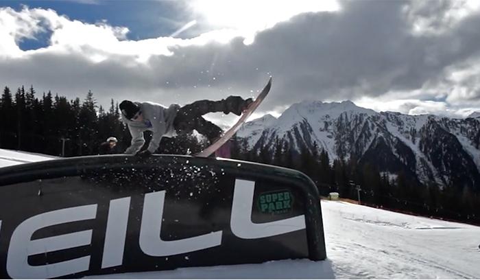 superpark planai czech snowboarding riders spot check