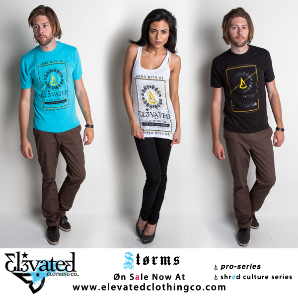 elevated clothing streetwear models storms tee