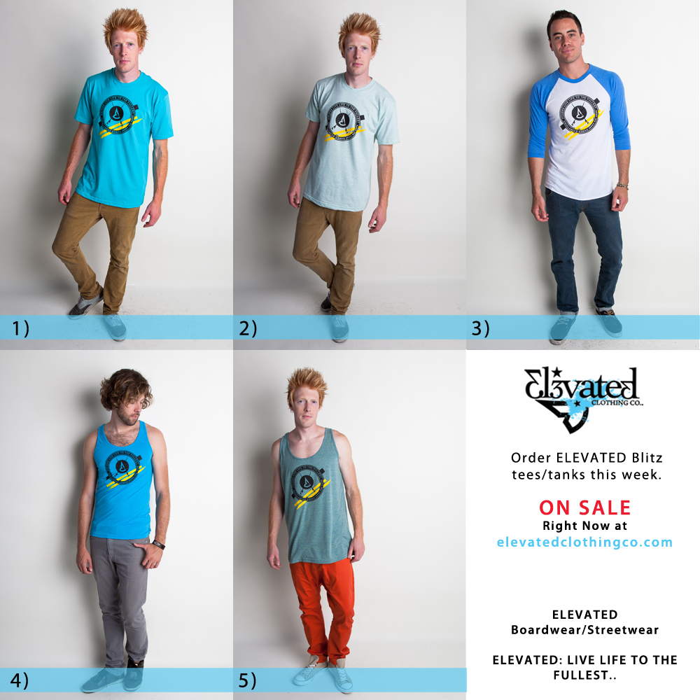 elevated clothing blitz