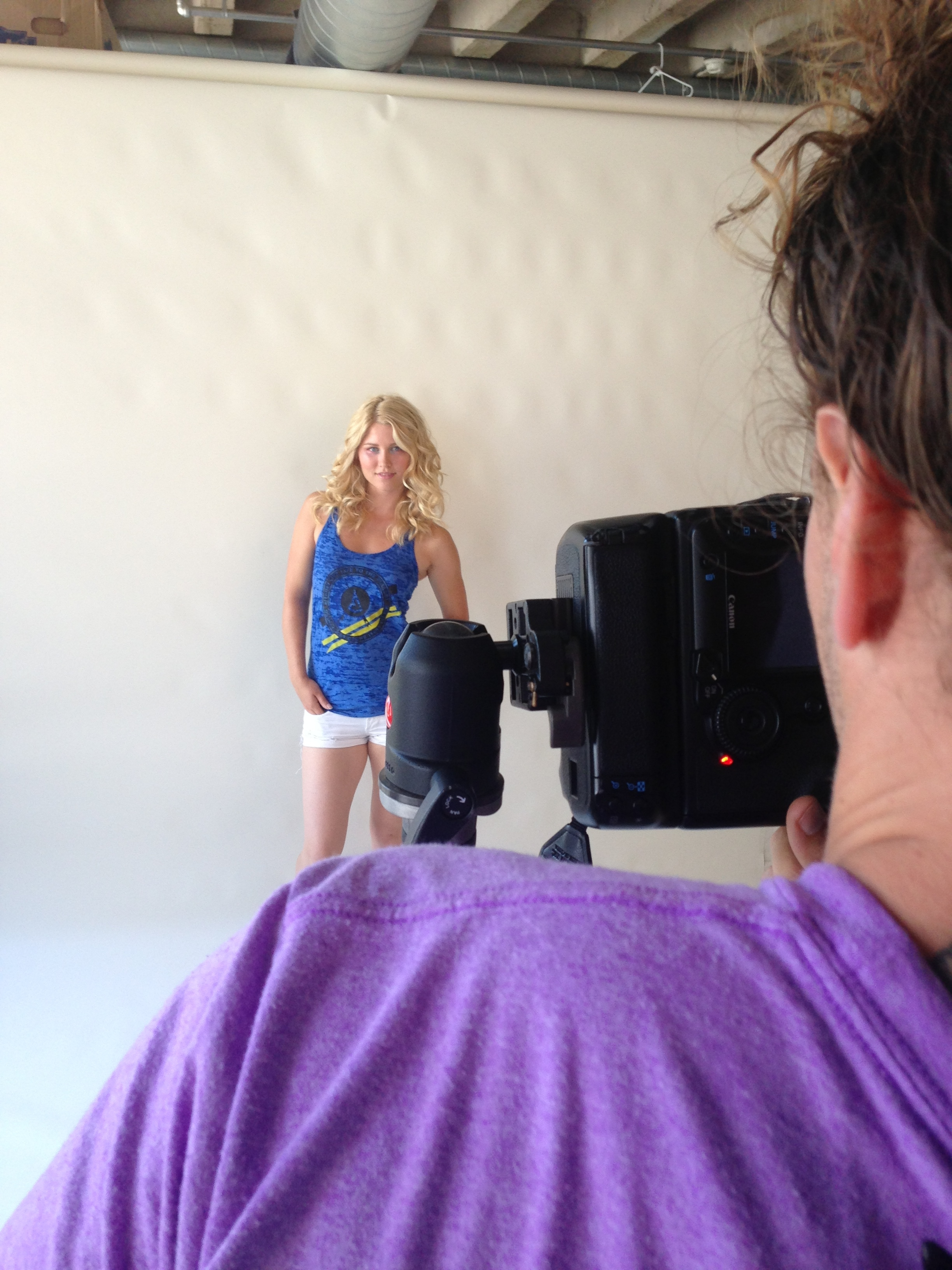 Blonde model norwegian Elevated Clothing