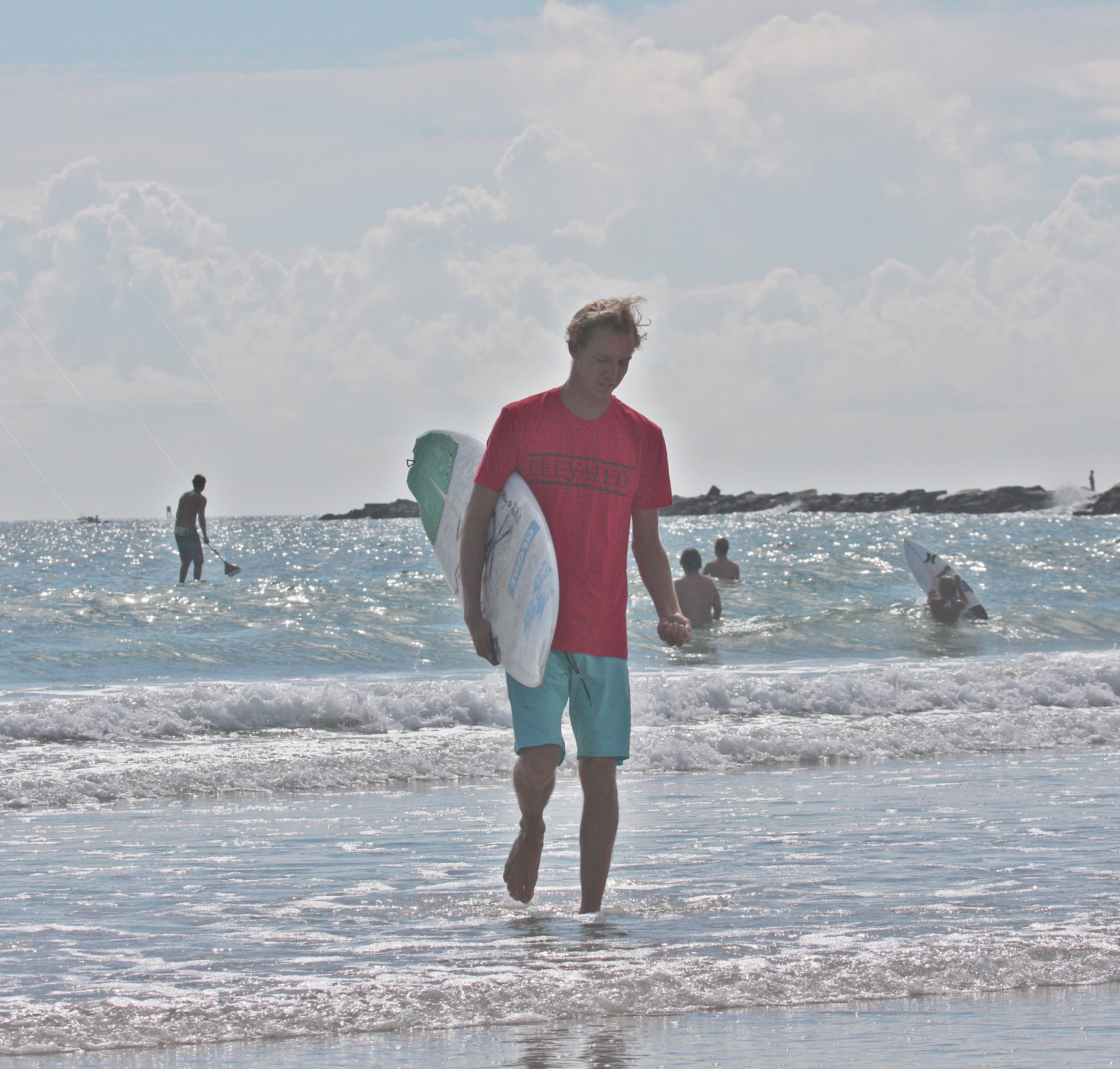 Elevated Clothing Cole Taschman pro surfer surf brand