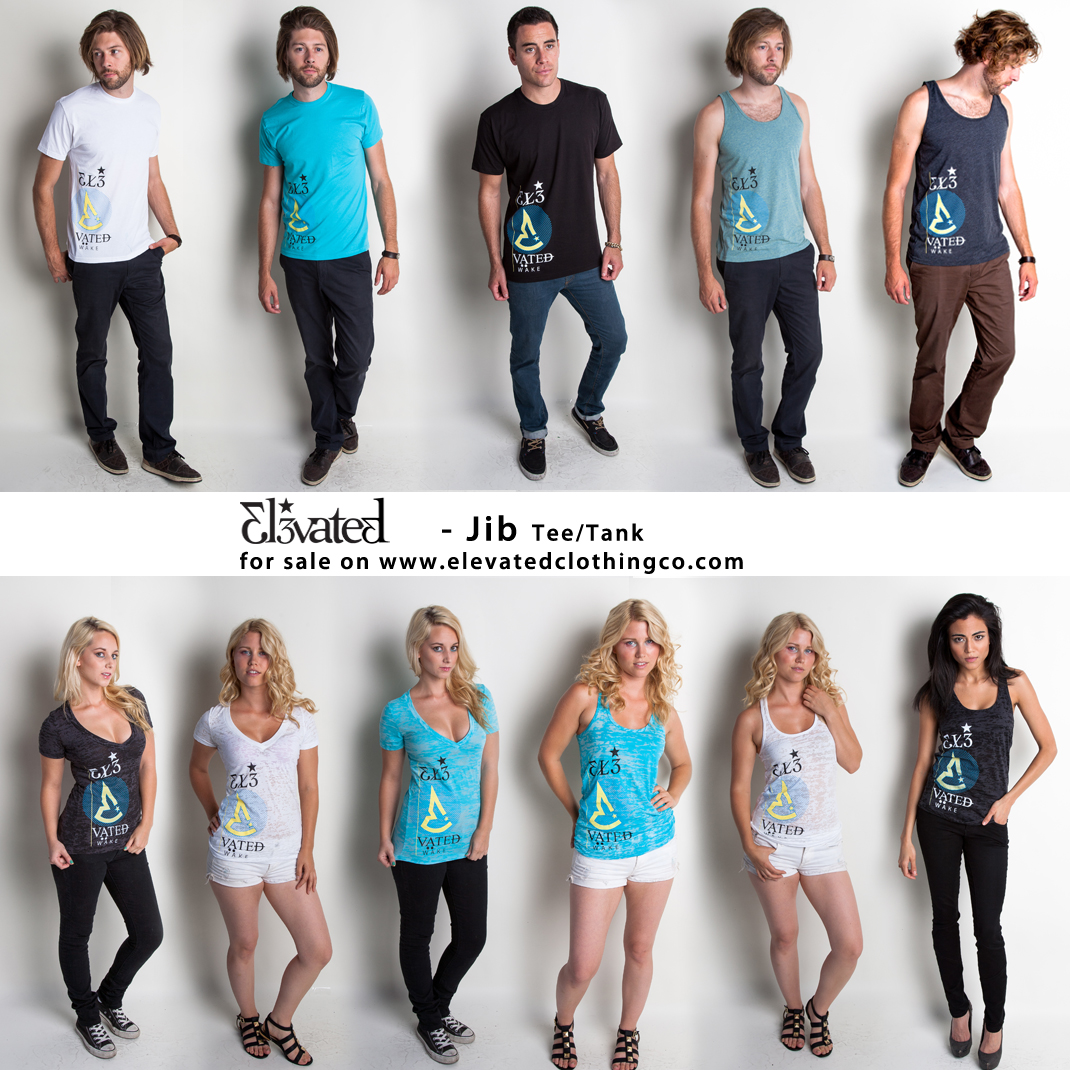 elevated wakeboarding clothing brand jib