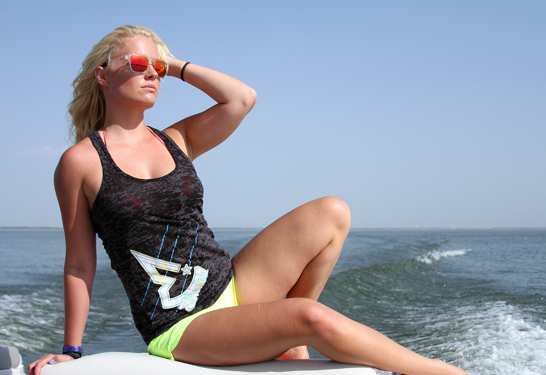 Graci Morgan Lake Life blonde elevated babe