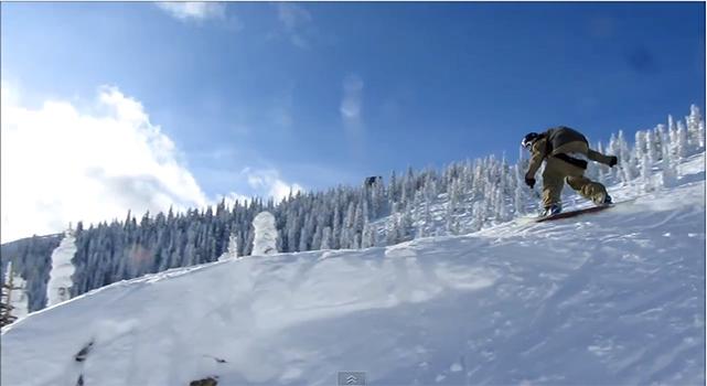hunter lamreaux montana snowboarding