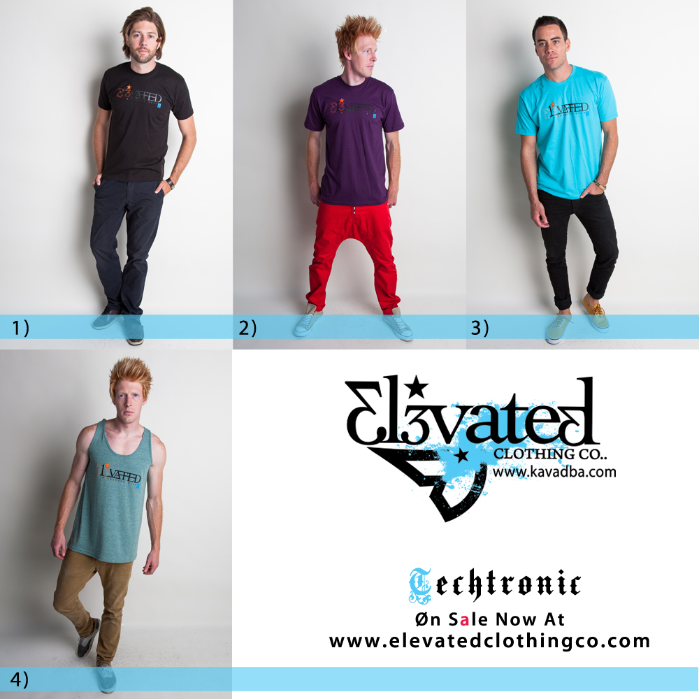 Wakeboard clothing Elevated Techtronic guys wakeboarding brand