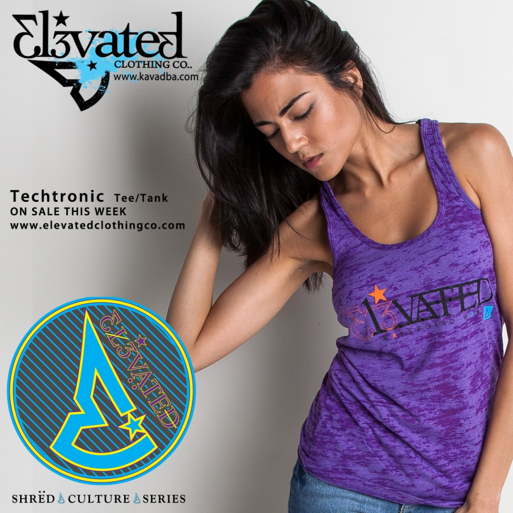 Wakeboard clothing Elevated Techtronic girls wakeboarding apparel brand