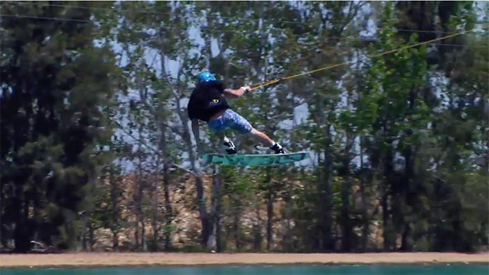Liquid Force Free For All Grady Eaton Elevated Wakeboarder