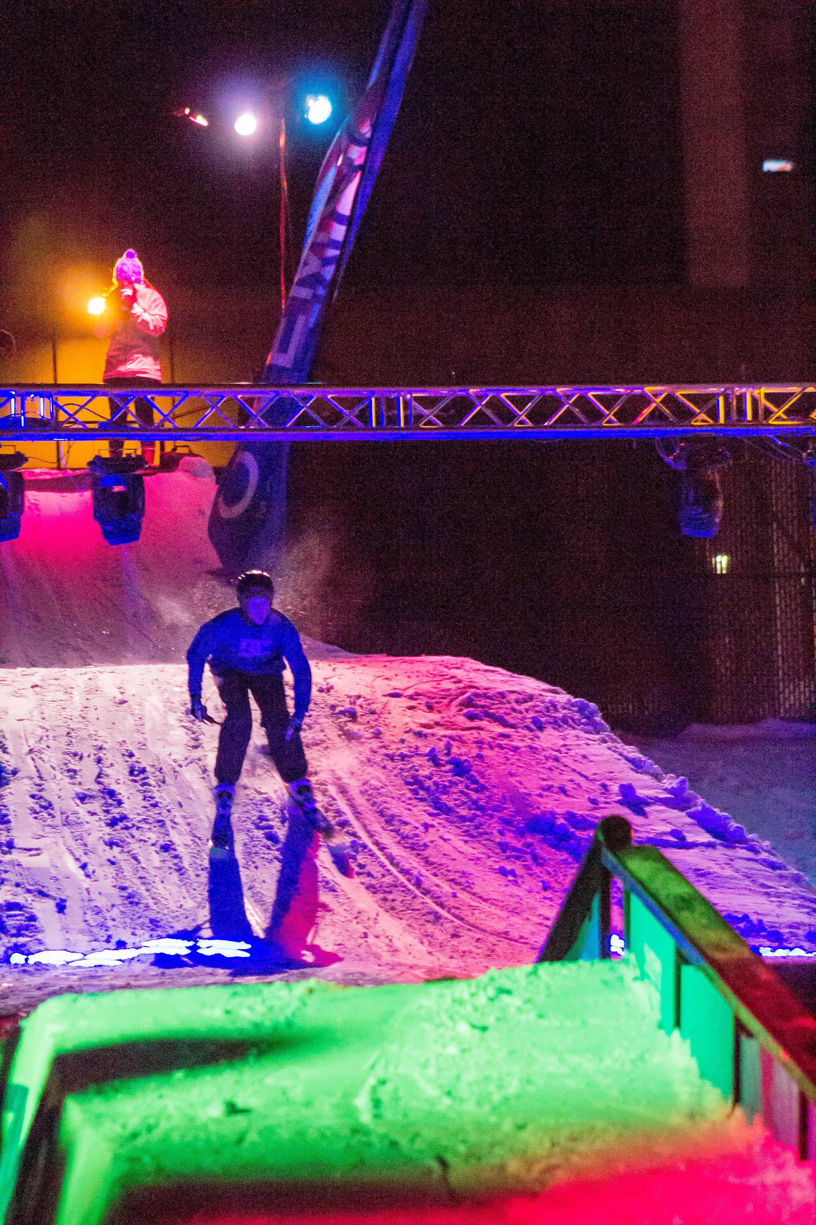 UMass Ski and Snowboard Club's annual Winter Festival and Rail Jam
