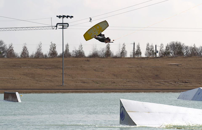 elevated clothing wakeboarder Seth colbert bsr cable park