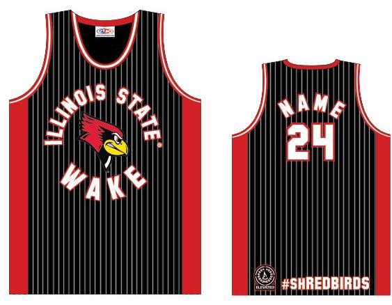 illinois state wakeboard team jersey shredbirds