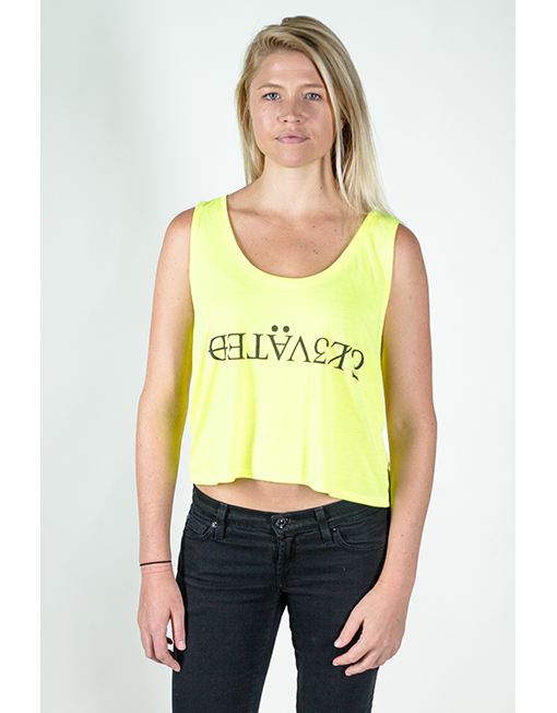 elevated clothing girls crop top tank this life is sick