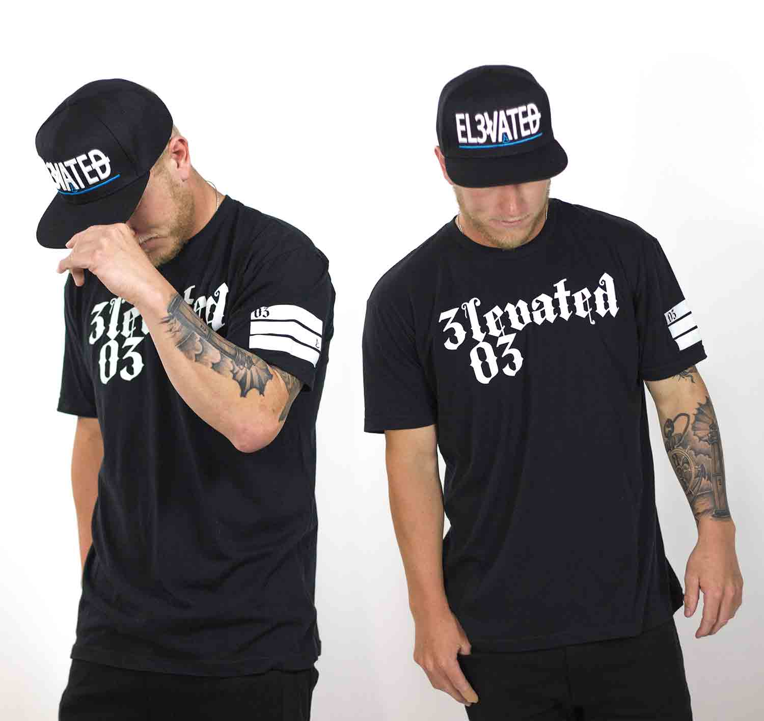 Elevated clothing los angeles streetwear brand 03 LA tee