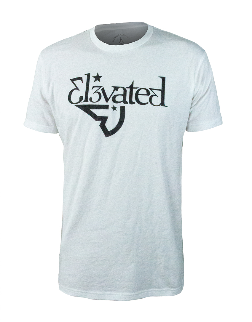 elevated clothing mens white tee authentic streetwear limited release