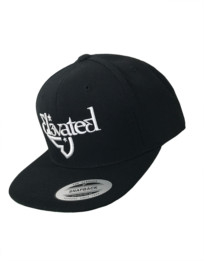 elevated course flatbill snapback